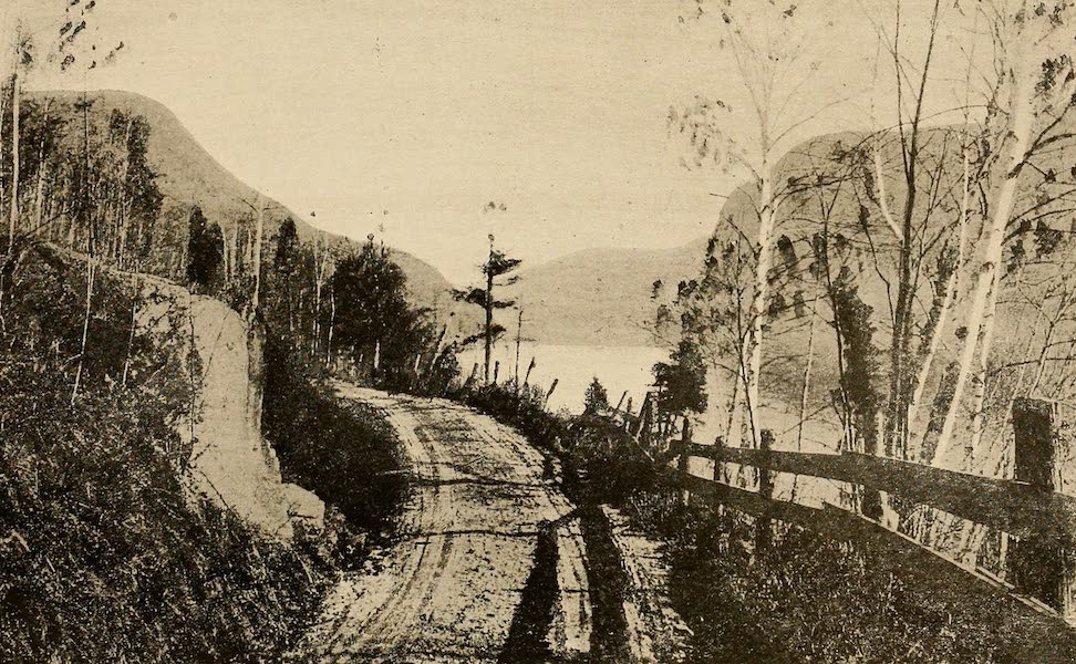 A Wonderland of the East - Lake Winnepesaukee, from the road near Laconia (1920)
