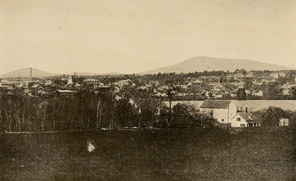 A Wonderland of the East - Mt. Monadnock, from the Toy Town Golf Links (1920)