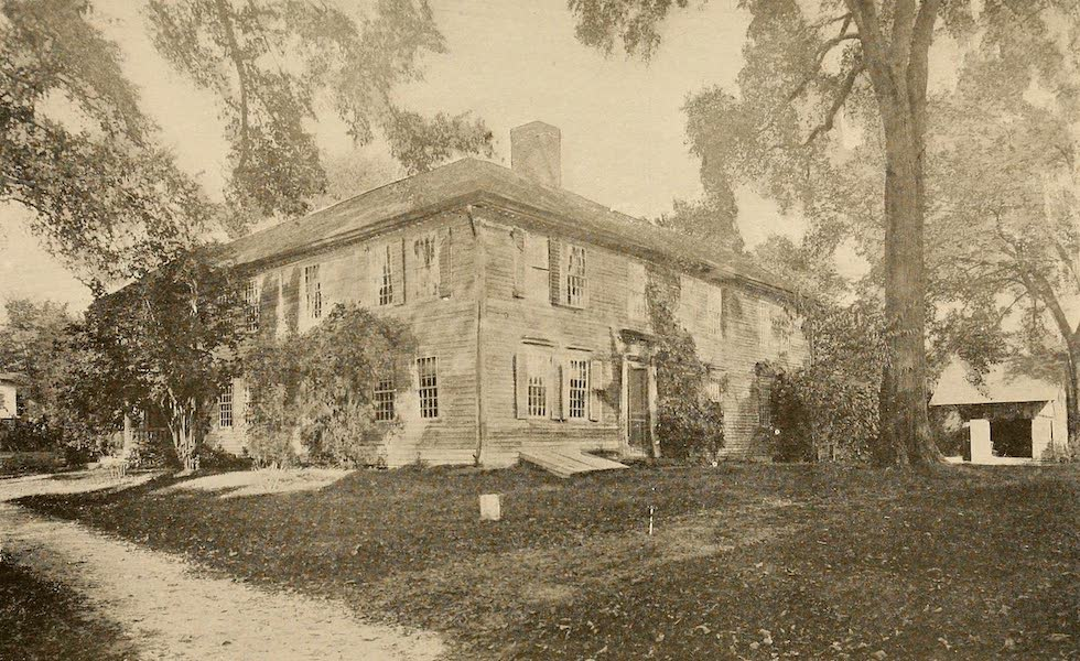 A Wonderland of the East - The Old Frary House (1698), Deerfield (1920)