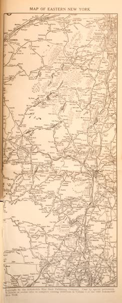 A Wonderland of the East - Map of Eastern New York (1920)