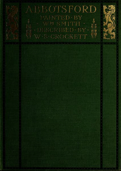 Abbotsford Painted and Described - Front Cover (1905)