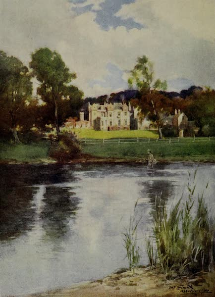 Abbotsford Painted and Described - Abbotsford from the River Tweed (1905)