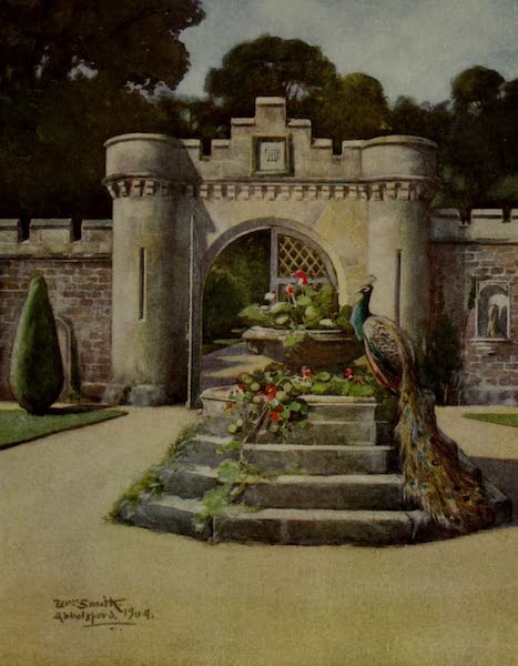 Abbotsford Painted and Described - The Gateway, Abbotsford (1905)
