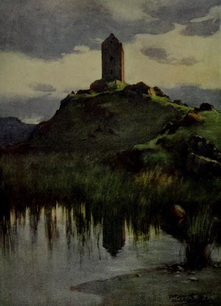 Abbotsford Painted and Described - Sandyknowe Tower (1905)