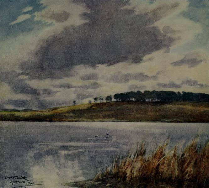 Abbotsford Painted and Described - Cauldshiels Loch (1905)