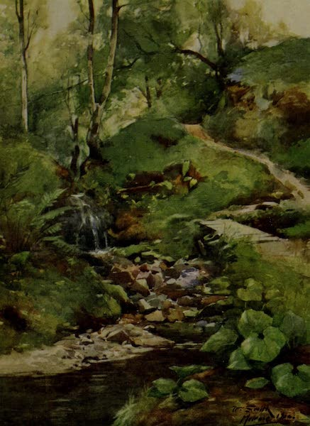 Abbotsford Painted and Described - The Rhymer's Glen (1905)