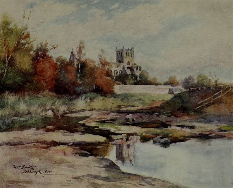 Abbotsford Painted and Described - Jedburgh Abbey (1905)