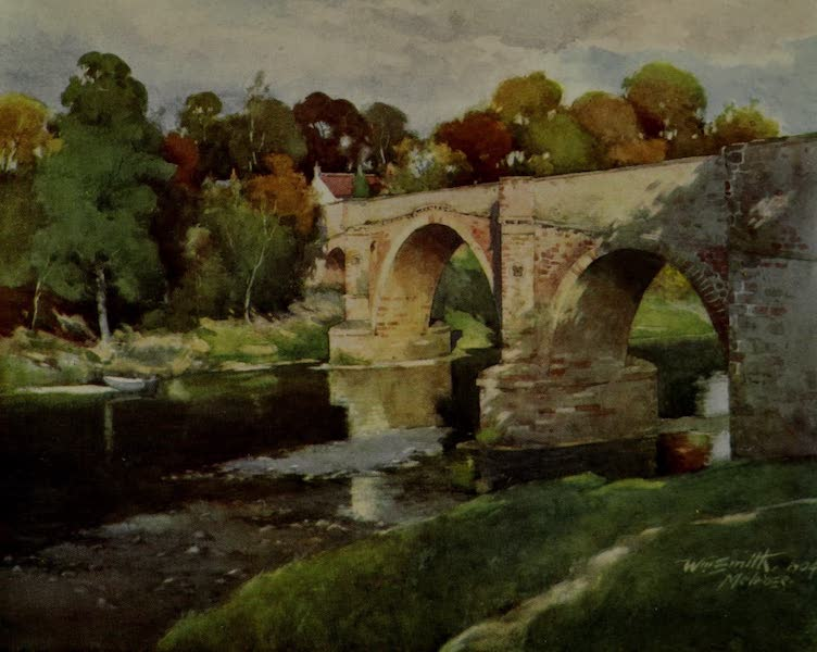 Abbotsford Painted and Described - Leaderfoot Bridge (1905)