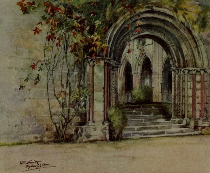 Abbotsford Painted and Described - Dryburgh Abbey (1905)