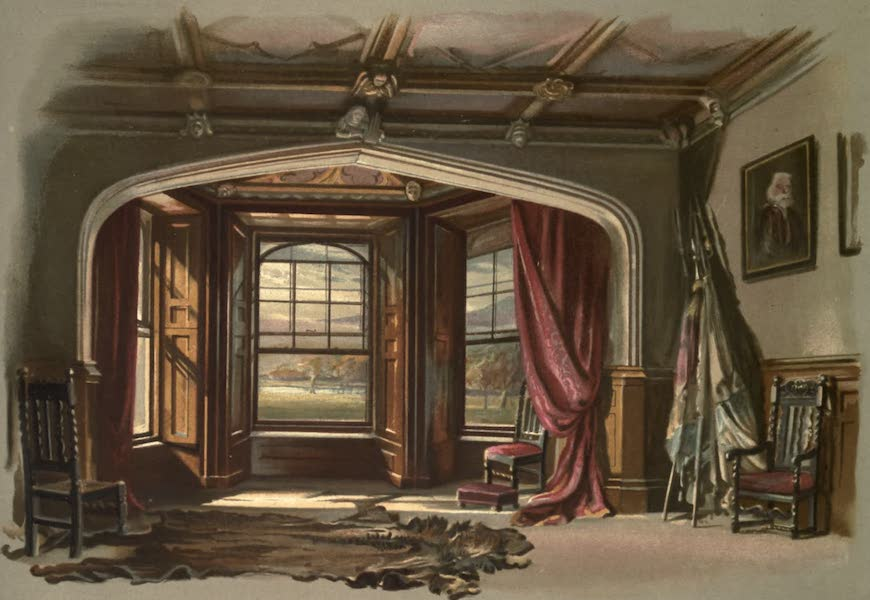 Abbotsford; The Personal Relics and Antiquarian Treasures of Sir Walter Scott - The Dining-room (1893)