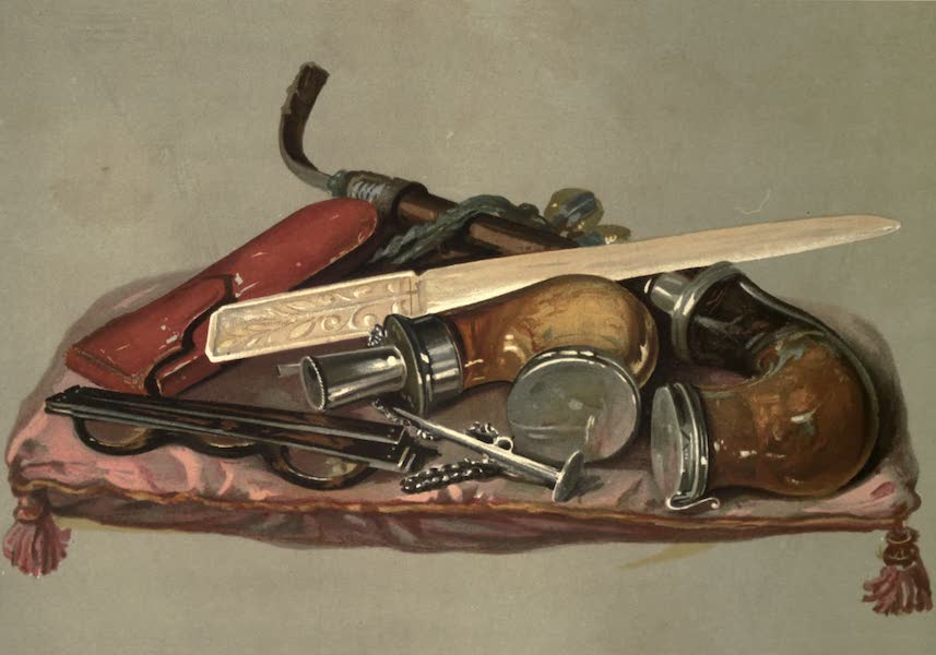 Abbotsford; The Personal Relics and Antiquarian Treasures of Sir Walter Scott - Sir Walter Scott's Pipes, Spectacles and Case, and Paper-cutter (1893)