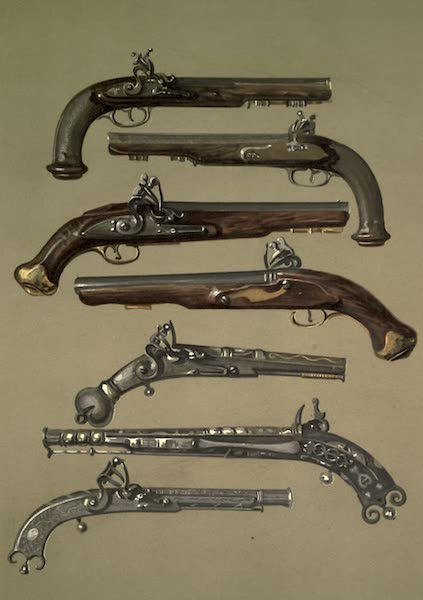 Abbotsford; The Personal Relics and Antiquarian Treasures of Sir Walter Scott - Pair of Pistols Which Belonged to Napoleon I. Sir Walter Scott's Volunteer Pistols. Pistol Which Belonged to Claverhouse. Old Pistol By Campbell of Doune. Pistol Which Belonged to Sir Walter Scott (1893)