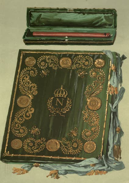 Abbotsford; The Personal Relics and Antiquarian Treasures of Sir Walter Scott - Napoleon's Pen-case and Blotting-book (1893)