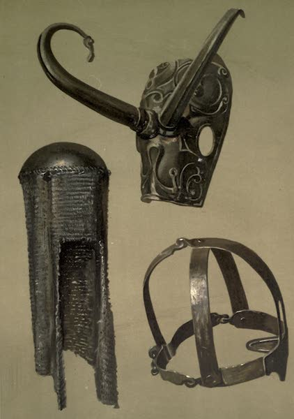 Abbotsford; The Personal Relics and Antiquarian Treasures of Sir Walter Scott - Ancient Bronze Mask. A Steel Skull-cap With Guard of Very Fine Chain Mail. the Branks (1893)