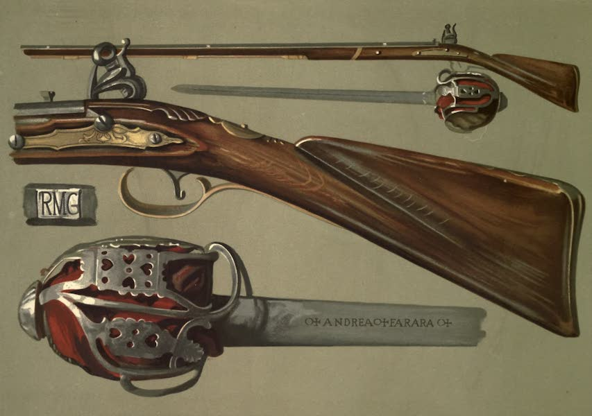 Abbotsford; The Personal Relics and Antiquarian Treasures of Sir Walter Scott - Rob Roy's Gun and Sword (1893)