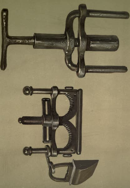 Abbotsford; The Personal Relics and Antiquarian Treasures of Sir Walter Scott - Two Pairs of Thumbscrews Or Thumbikins (1893)