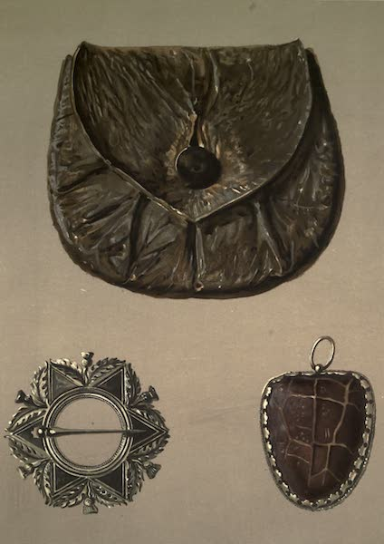 Abbotsford; The Personal Relics and Antiquarian Treasures of Sir Walter Scott - Rob Roy's Purse. Helen Macgregor's Brooch. toadstone Amulet (1893)