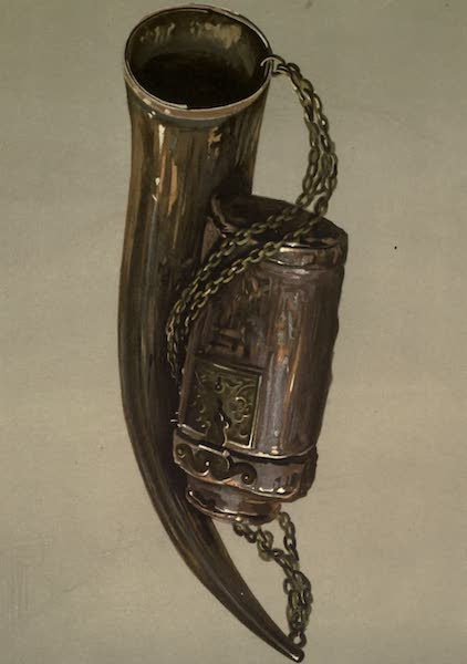 Abbotsford; The Personal Relics and Antiquarian Treasures of Sir Walter Scott - Border War-horn. James VI.'s Hunting-bottle (1893)