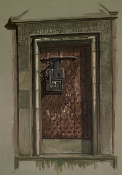 Abbotsford; The Personal Relics and Antiquarian Treasures of Sir Walter Scott - The Door of