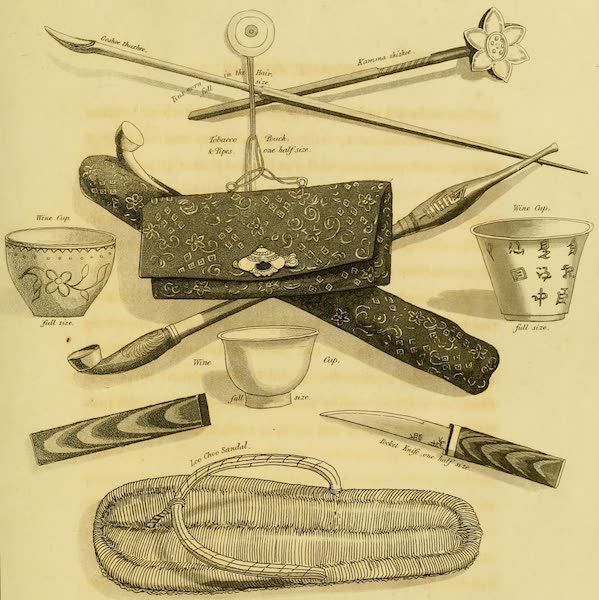 Account of a Voyage of discovery to the West Coast of Corea - Costume (1818)