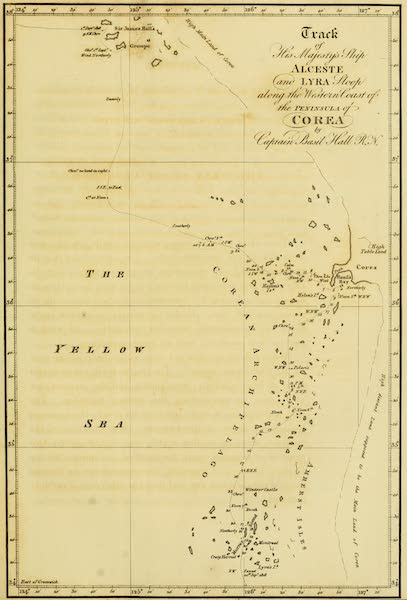 Account of a Voyage of discovery to the West Coast of Corea - Coast of Corea (1818)