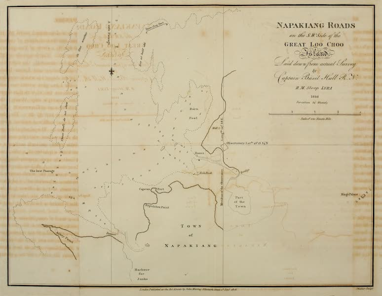 Account of a Voyage of discovery to the West Coast of Corea - Napakiang Roads (1818)
