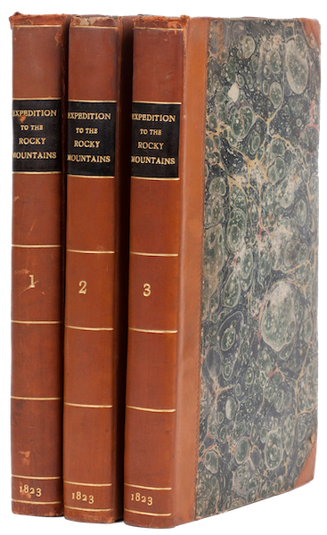 Account of an Expedition from Pittsburgh to the Rocky Mountains Vol. 1 - Book Display (1823)