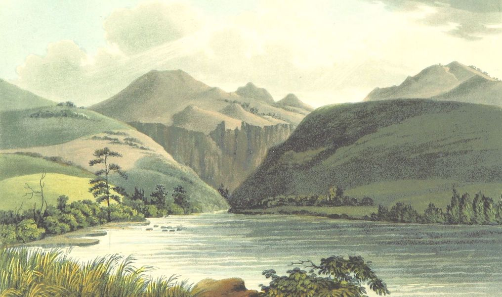 Account of an Expedition from Pittsburgh to the Rocky Mountains Vol. 2 - View of the Chasm through which the Platte issues from the Rocky Mountains (1823)