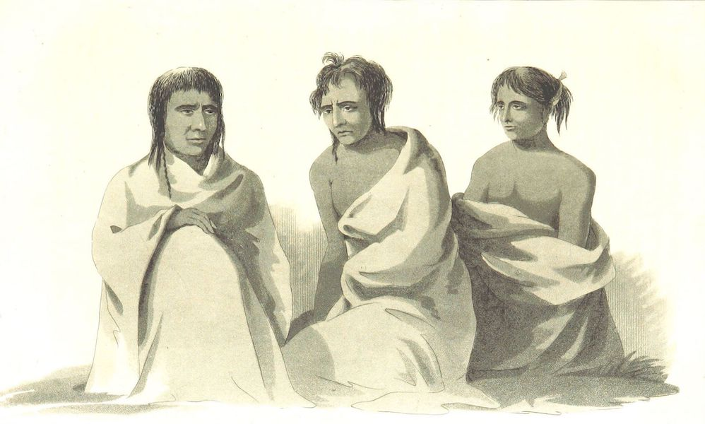 Account of an Expedition from Pittsburgh to the Rocky Mountains Vol. 3 - Kaskaia / Shienne Chief / Awappaho (1823)