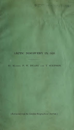 English - Account of Arctic Discovery on the Northern Shore of America