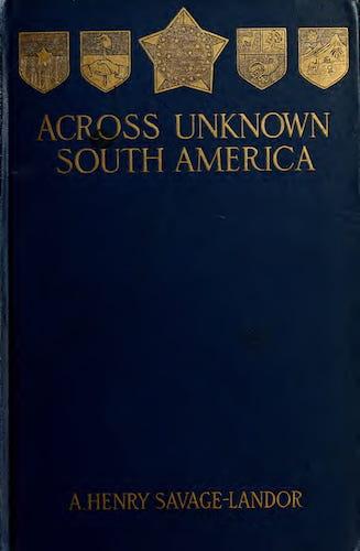 Aquatint & Lithography - Across Unknown South America Vol. 1