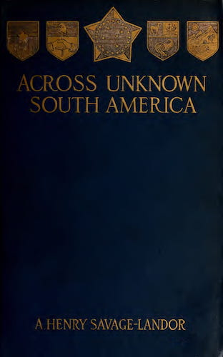 Aquatint & Lithography - Across Unknown South America Vol. 2
