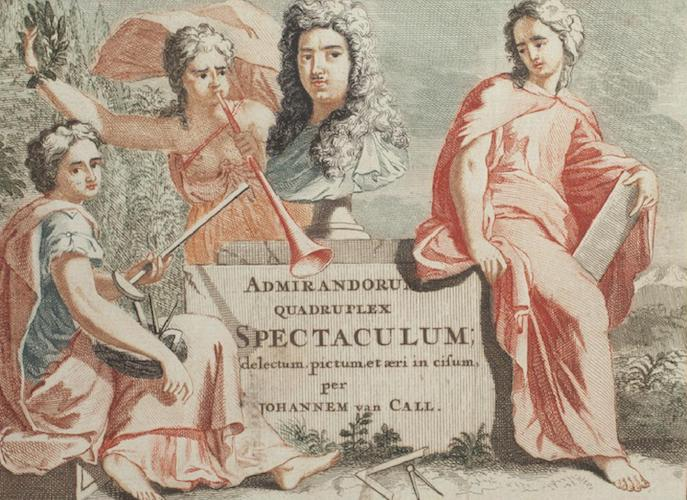 Aquatint & Lithography - Admirandorum Quadruplex Spectaculum