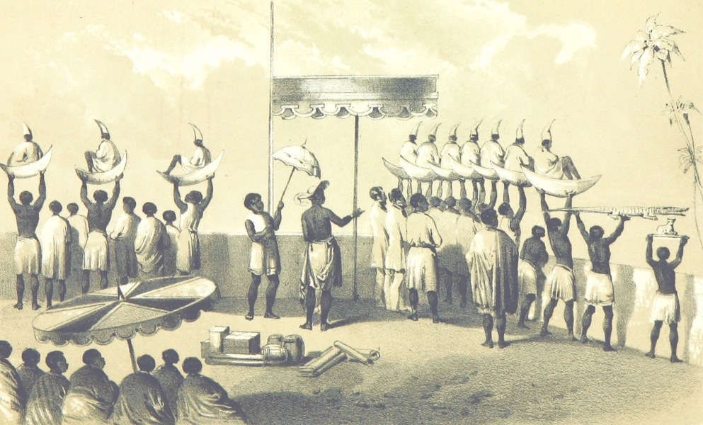 Africa and the American Flag - The Platform of the Ah-toh (1854)