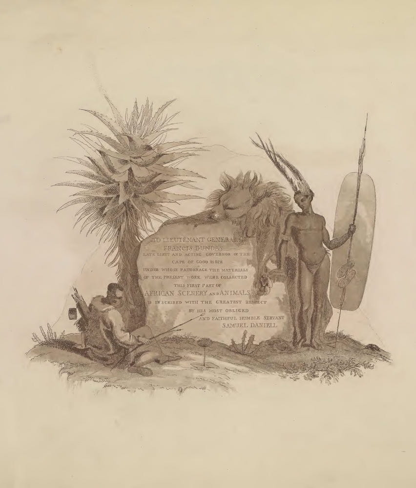 African Scenery and Animals (1804)