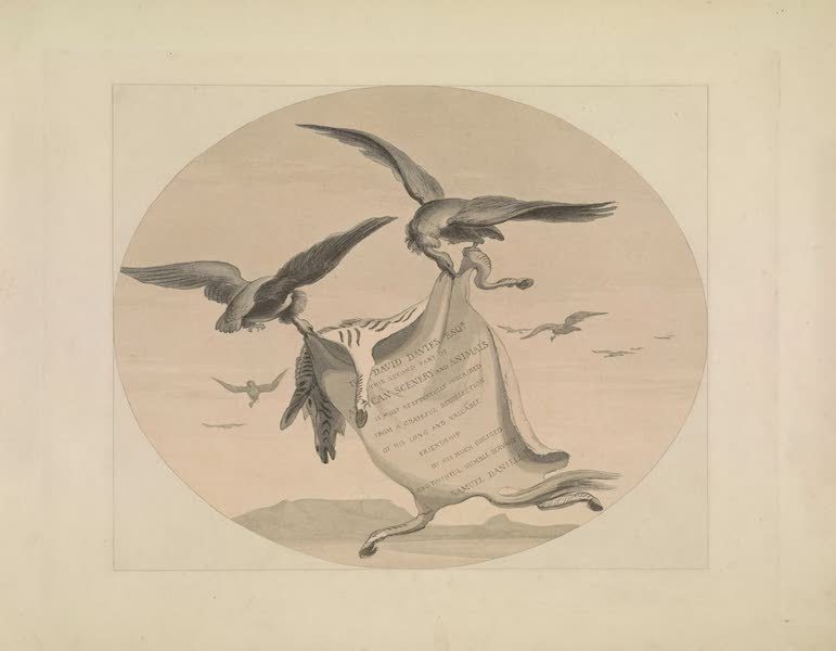 African Scenery and Animals - Title Page - Second Part (1804)