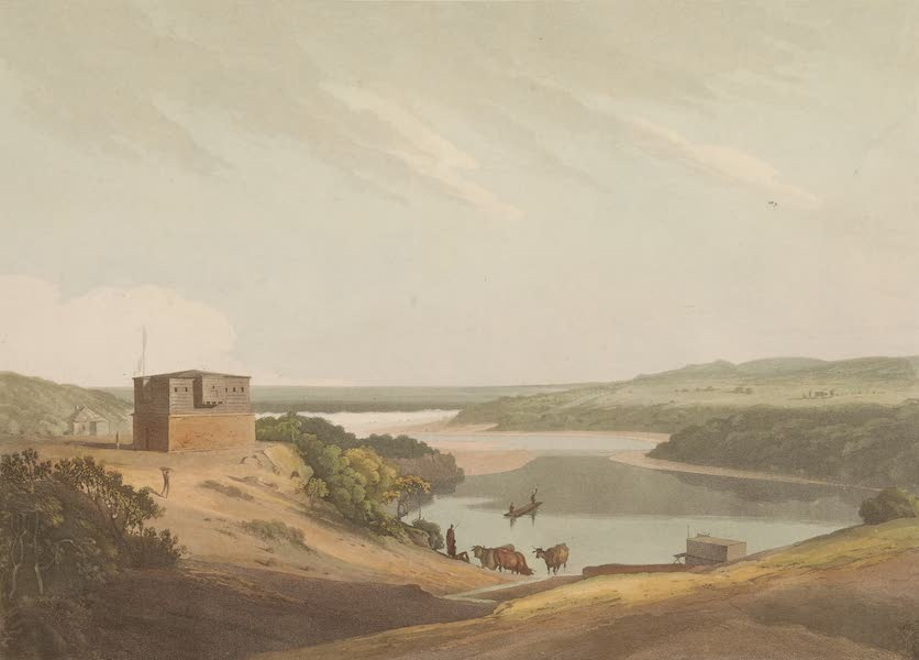 African Scenery and Animals - Military Station at Algoa Bat (1804)