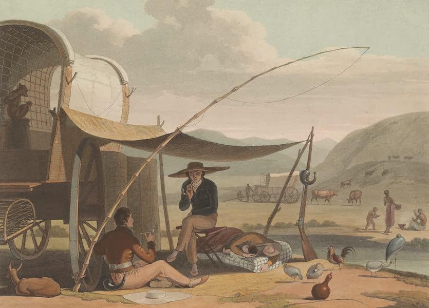 African Scenery and Animals - Halt in the Desert (1804)