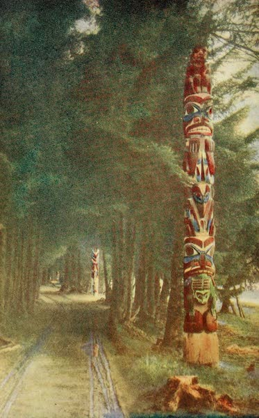 Alaska, Our Beautiful Northland of Opportunity - Lover's Lane, Indian Park, Sitka (1919)