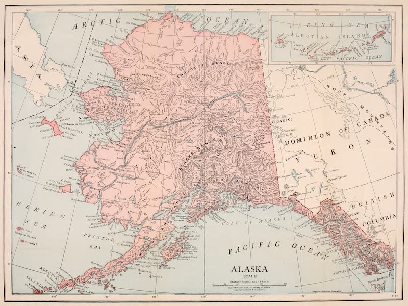 Alaska, Our Beautiful Northland of Opportunity - Map of Alaska (1919)