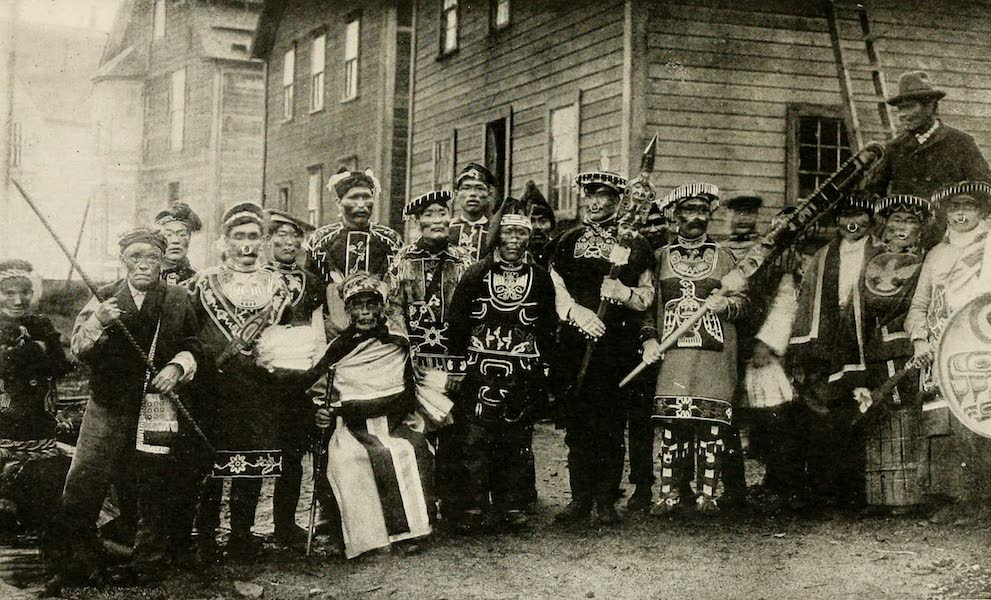 Alaska, Our Beautiful Northland of Opportunity - Indians in Their Potlatch Costumes (1919)