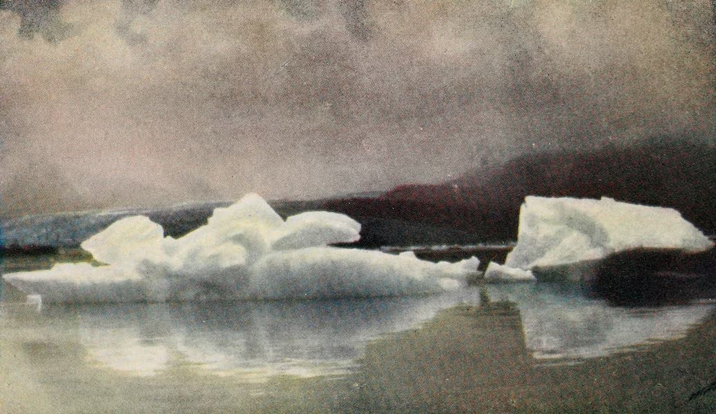 Alaska, Our Beautiful Northland of Opportunity - Icebergs in Taku Inlet (1919)