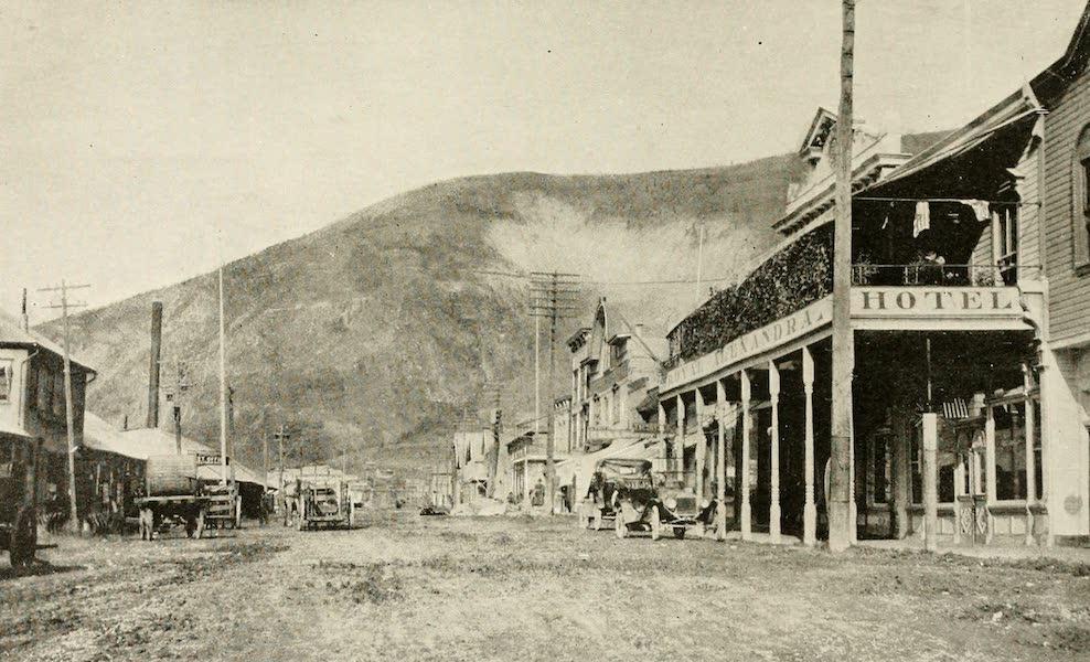 Alaska, Our Beautiful Northland of Opportunity - Main Street, Dawson (1919)