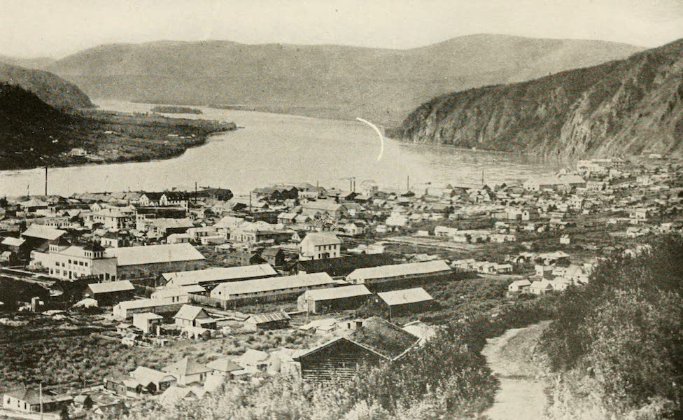 Alaska, Our Beautiful Northland of Opportunity - A Bird's-eye View of Dawson (1919)