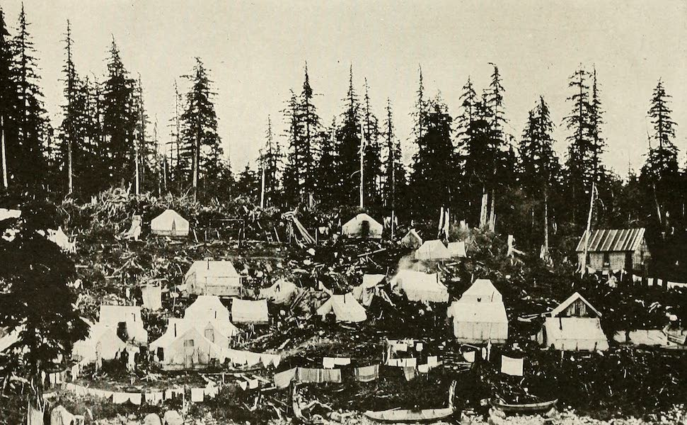 Alaska, Our Beautiful Northland of Opportunity - A New Camp after a Gold Discovery (1919)