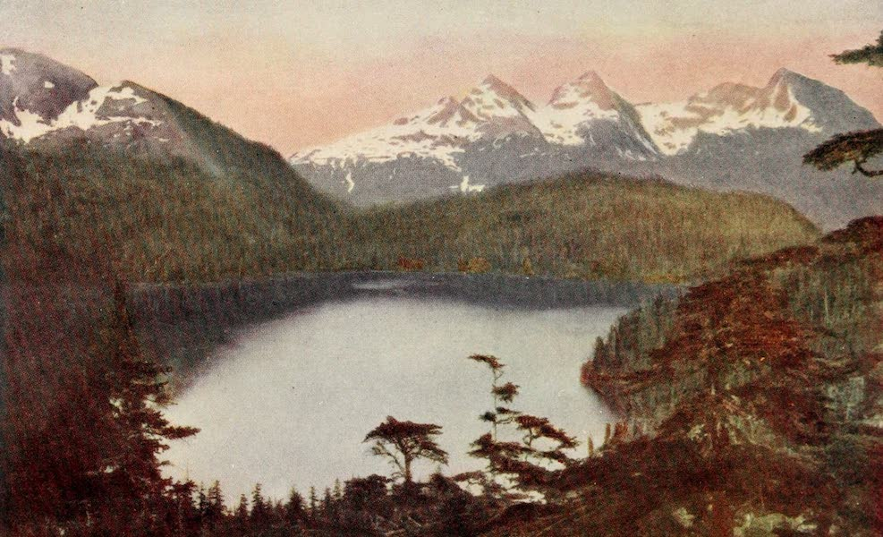 """Alaska, Our Beautiful Northland of Opportunity - """"Occasionally a Little Lake Appears"""" (1919)"""