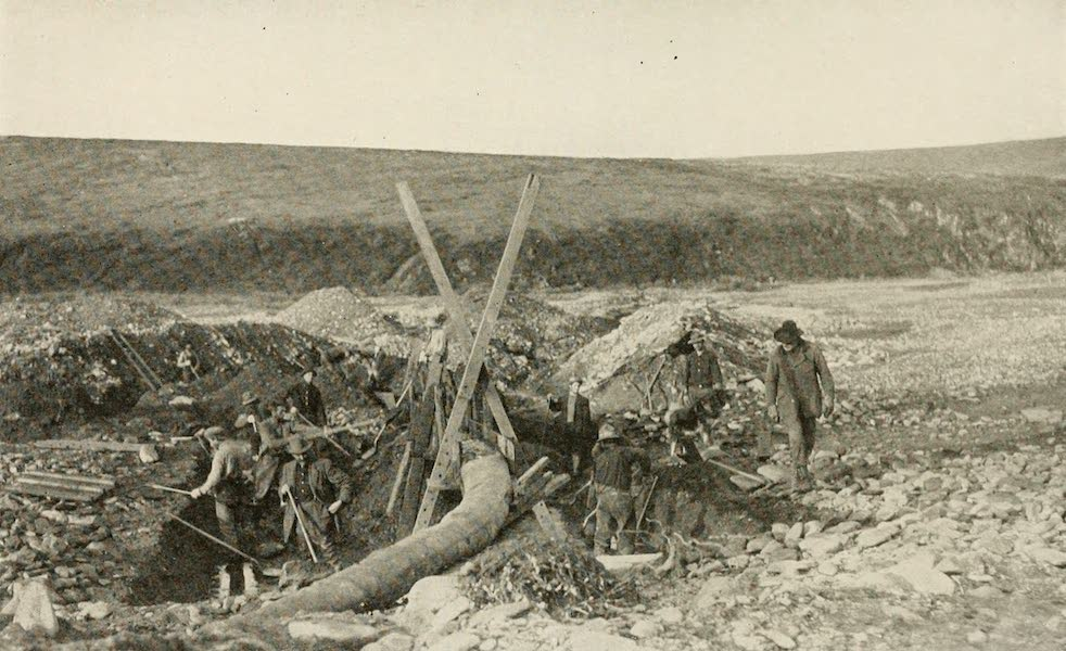 Alaska, Our Beautiful Northland of Opportunity - Mining on Tundra, near Nome (1919)