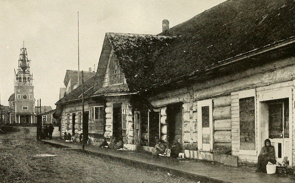 Alaska, Our Beautiful Northland of Opportunity - A Street Scene, Sitka (1919)