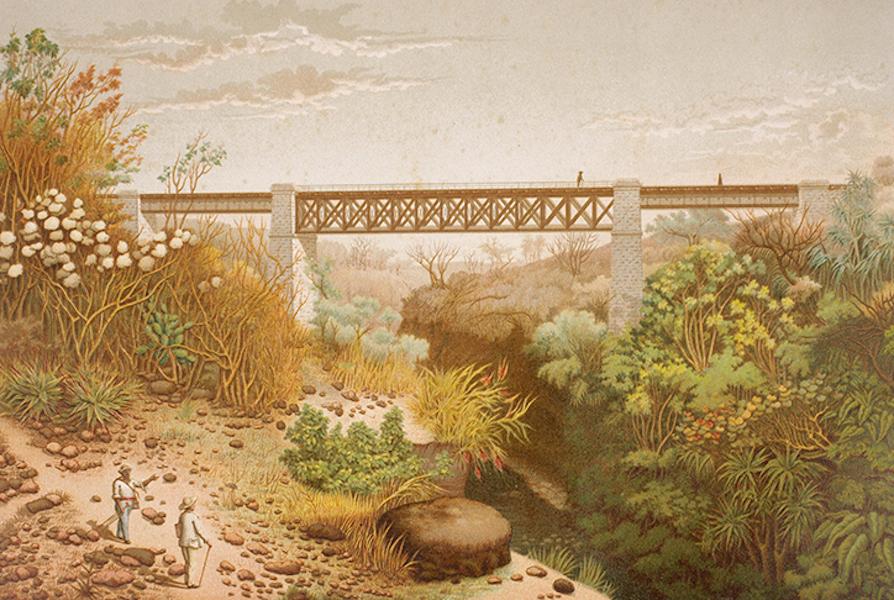 Album del Ferro-Carril Mexicano - Puente de Paso del Macho (1877)