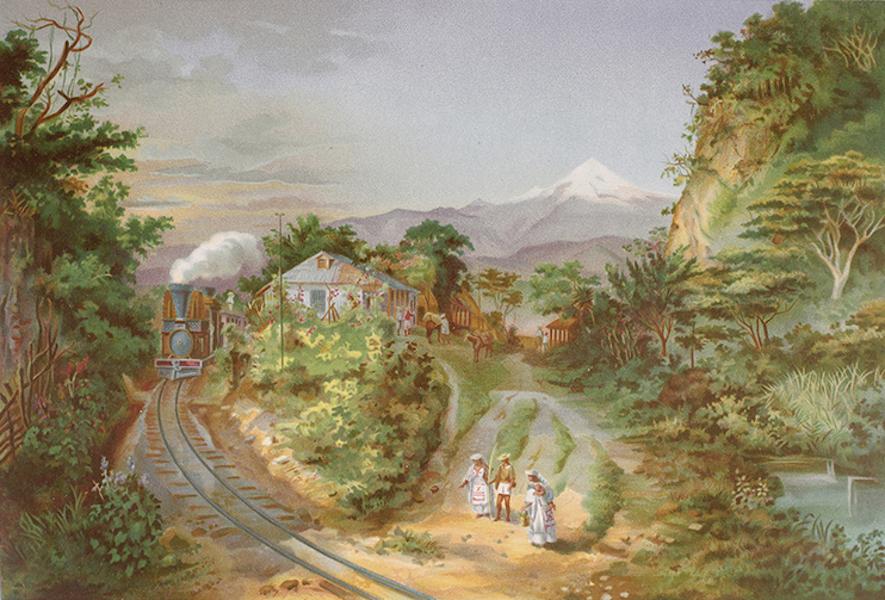 Album del Ferro-Carril Mexicano - La Penuela (Caminos para Veracruz y Alvarado) (1877)